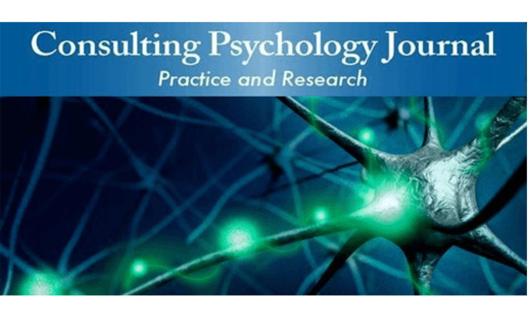 Consulting Psychology Journal: Practice and Research