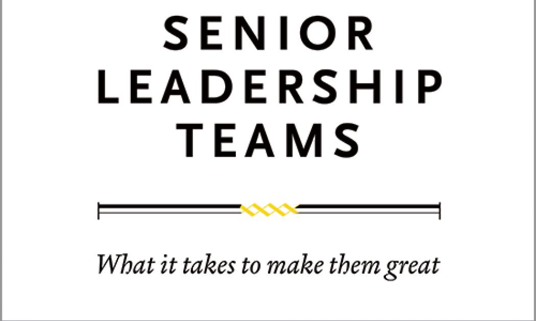 Senior Leadership Teams