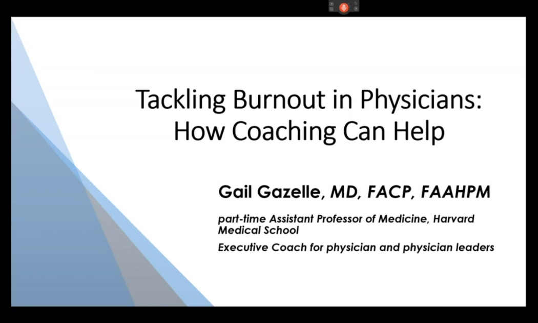 Tackling Burnout in Physicians