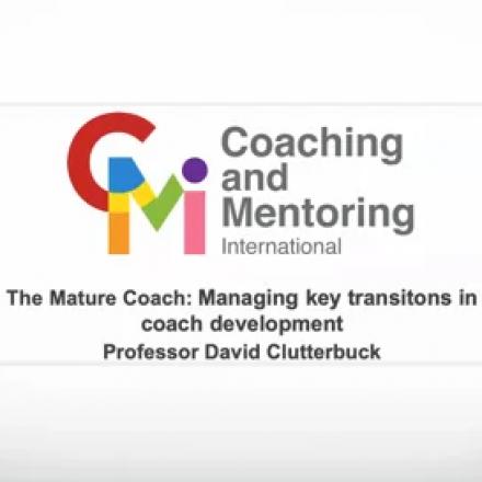 The mature coach