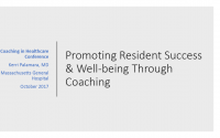 Promoting Resident Success and Well-being Through Coaching