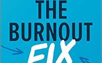 Blue cover for book The Burnout Fix