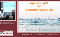 Applying Acceptance & Commitment Therapy in Executive Coaching