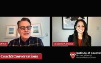 LinkedIn Live Screenshot of Jeffrey Hull & Jacinta Jimenez CoachXConversation