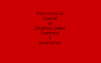 International Journal of Evidence Based Coaching and Mentoring