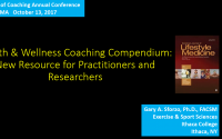 Health and Wellness Coaching Compendium