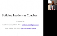 Building Leaders as Coaches