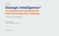 Dialogic Intelligence