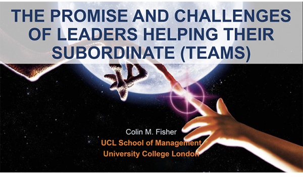 The Promise and Challenges of Leaders Helping Their Subordinates