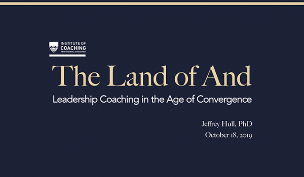 Leadership Coaching in the Age of Convergence