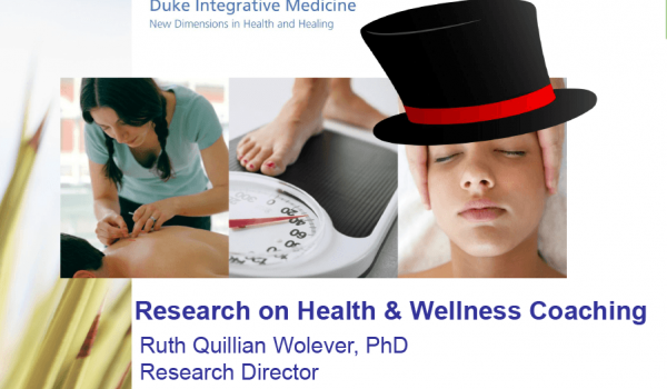 Research on Health and Wellness Coaching