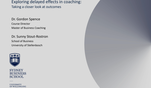 Are Coaching Sleeper Effects Fertile Ground for Future Research