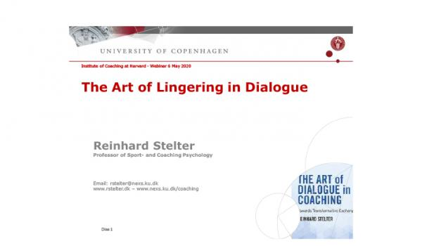 The Art of Lingering in Dialogue