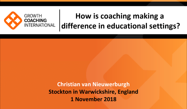 How Coaching is Making a Difference in Educational Settings