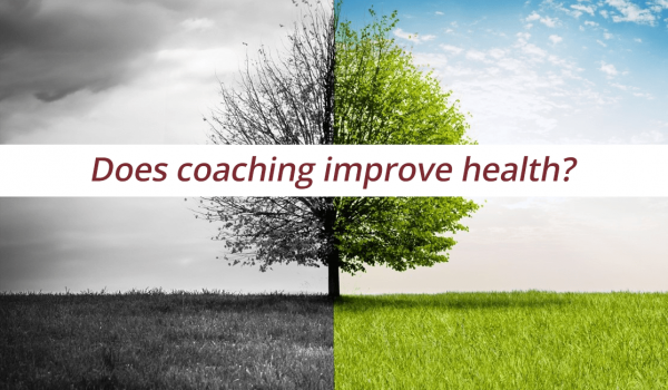 Does coaching improve health?
