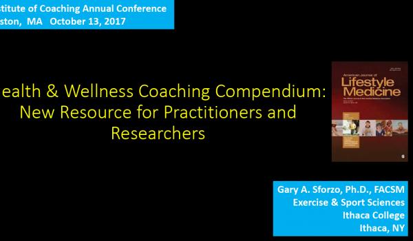 Health and Wellness Coaching Compendium