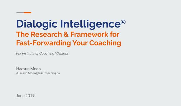 Dialogic Intelligence
